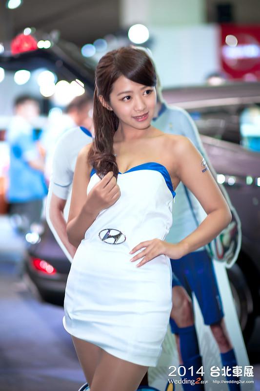 2014台北車展 show girl,28