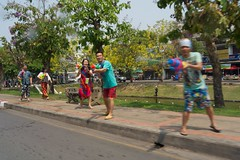 Songkram! in Chiang Mai, Thailand