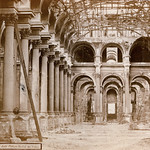 ภาพของ Hôtel de Ville ใกล้ ปารีส. monument blackwhite paperprint positive albumen