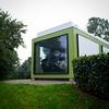 Arne Jacobsen's summer house. Trapolt Museum. Kolding Denmark