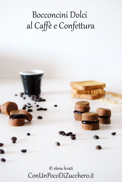 Dolcetti di riciclo al caffè e confettura 1