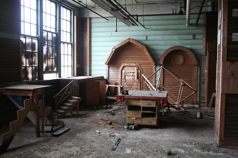 Washburne Trade School interior