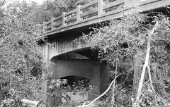 FM 1579 Bridge over East Navidad River, Schulenburg, Texas 1409151138bw