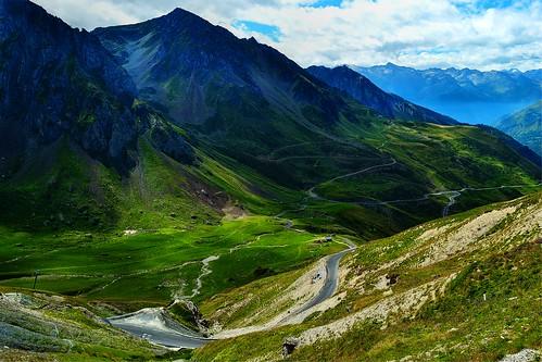 Col du tourmalet en pirineos