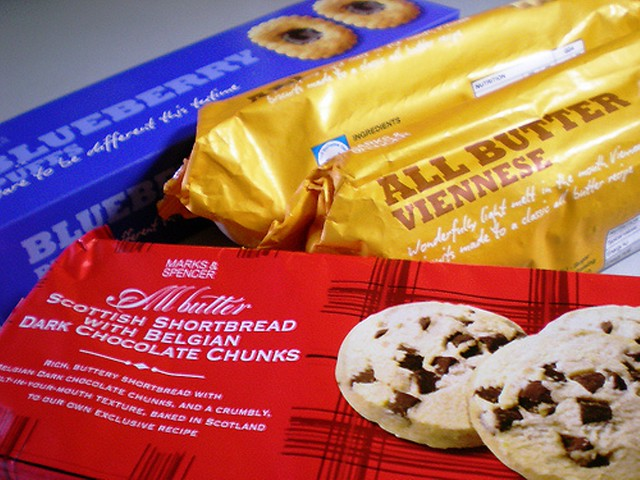 M&S cookies