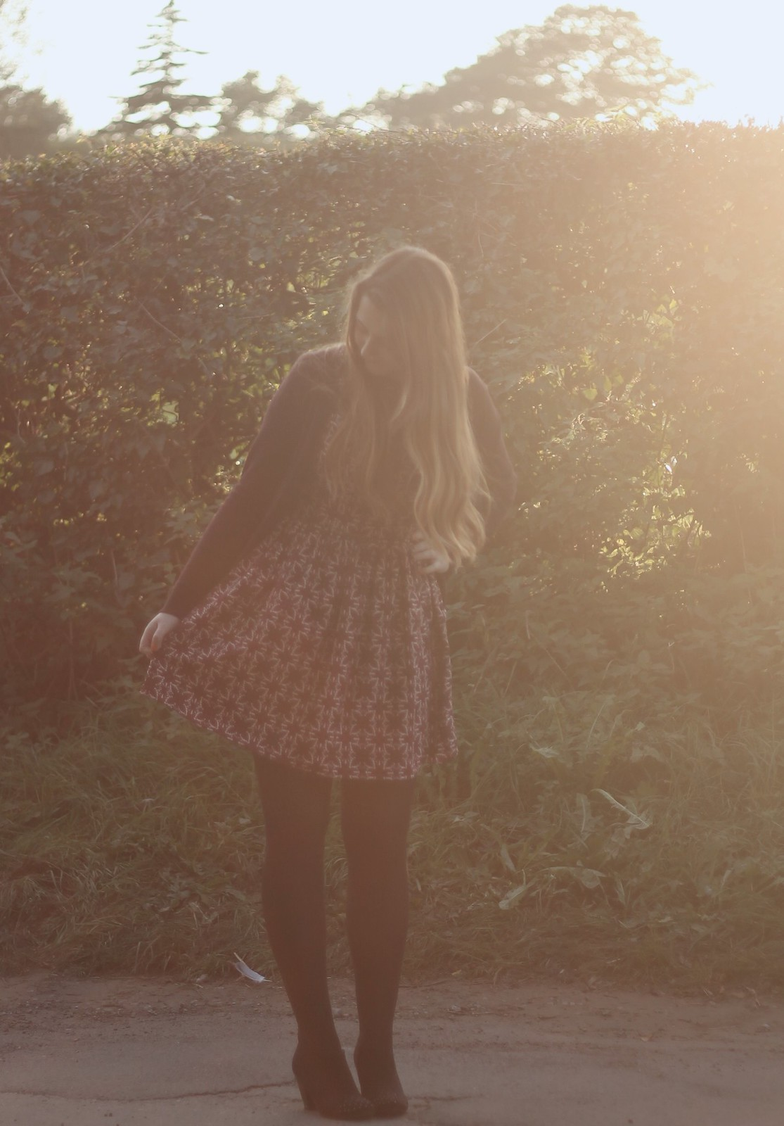 Primark paisley dress