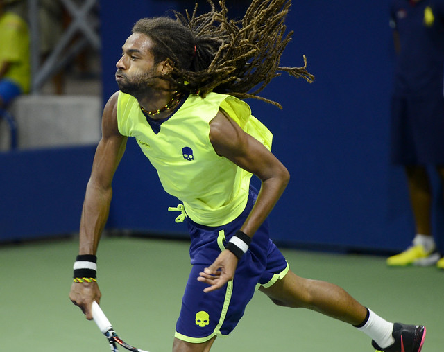 Dustin Brown just knocked Rafael Nadal out of Wimbledon