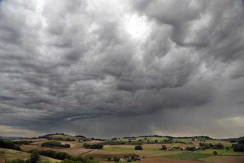 sky cloud storm france rain canon landscape