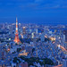 Tokyo Tower - A view from above by kontroniks