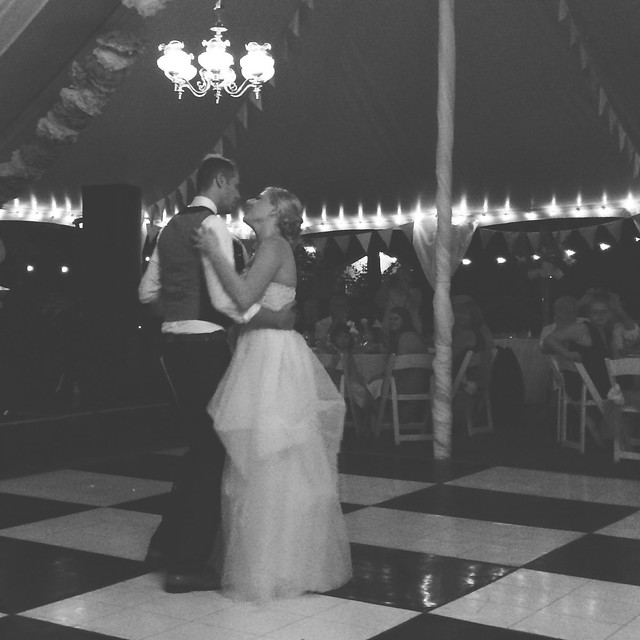 First dance. Love these two Foxes. #foxlanta