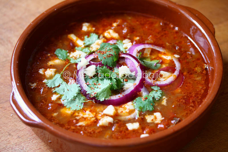 sopa mexicana ingredientes