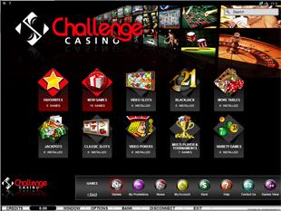 Challenge Casino Lobby