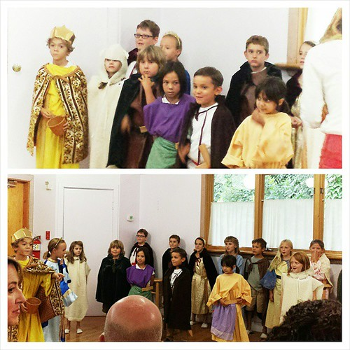 Second-grade Michaelmas play #autumn #waldorf #sacramentowaldorfschool #secondgrade #michaelmas