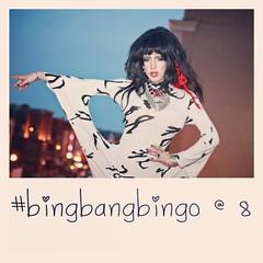 Where's the party at? #BingBangBingo                          Pussy Noir & Heidi Glum are back at 8pm tonight.