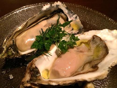 牡蠣の盛り合わせ@カルネリーナ