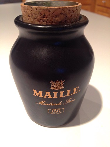 Maille mustard jar