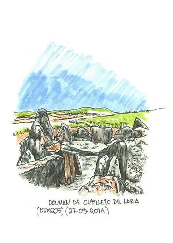 Cubillejo de Lara (Burgos). Dolmen