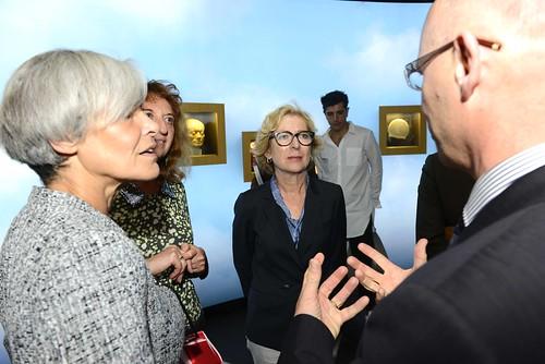 17 septembre 2014 - Inauguration de l'exposition