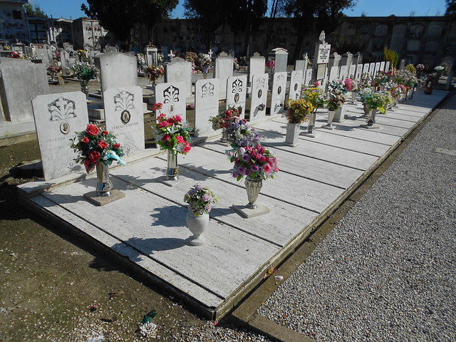 Rappresaglia tedesca di Previere, martiri di guerra, 25 aprile 19, le tombe, Ceregnano