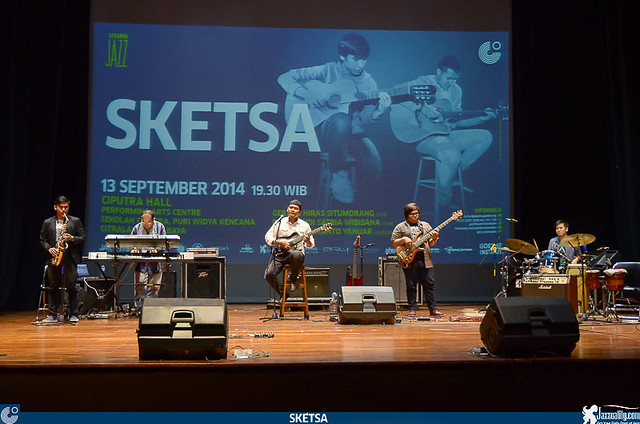 Serambi Jazz - Sketsa -Surabaya - 2014 (1)