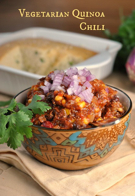 5th Annual Chili Contest: Entry #3 – Vegetarian Quinoa Chili ...