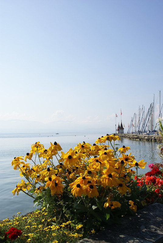Morges Waterfront and Harbour