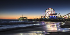 Santa Monica Pier Twilight