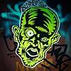 Putting me in the #Halloween spirit #Damon #wheatpaste #graffiti #StreetArt #Williamsburg #Brooklyn #NYC