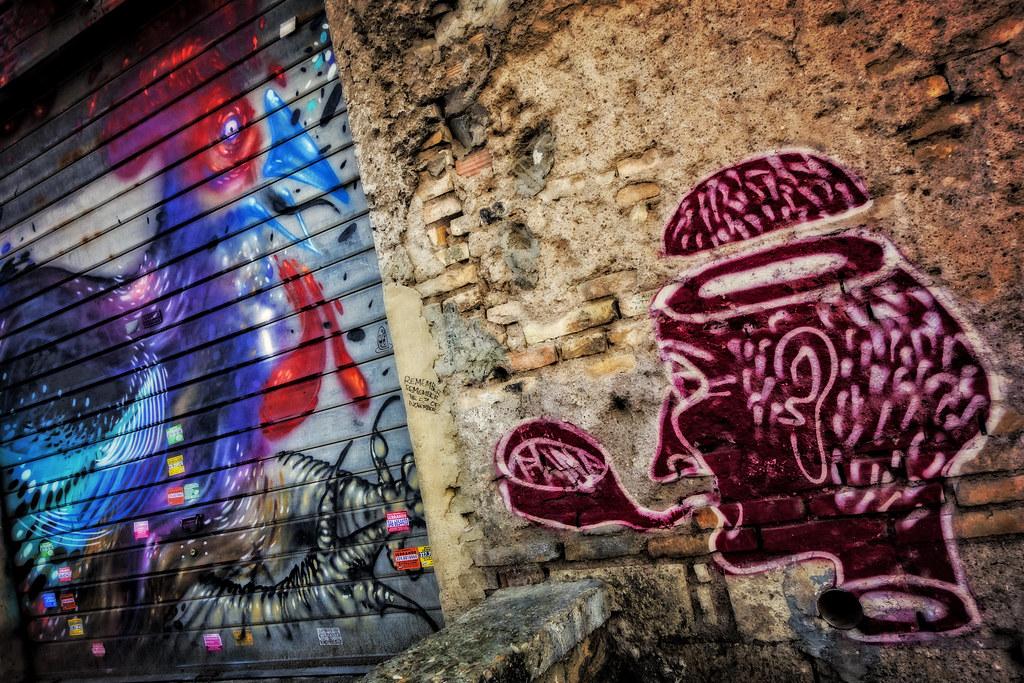 Murales al Pigneto