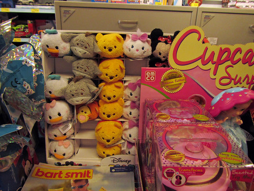 Tsum Tsums at the local toy store