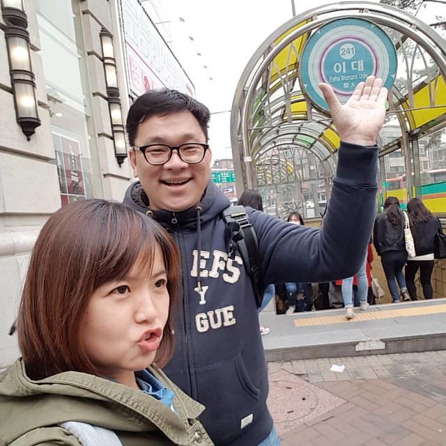 Jeff 成了第一位相見的朋友! 說你是韓國人也根本不違和。