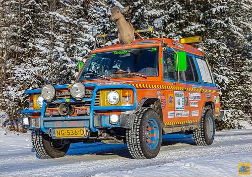 bergenhamar cr2017 carbagerun dzh dzh2017 dezwarehufters heiloo pajero scandinavië sponsoring stichtingdolfinn tb wintereditie sneeuw winter vangkommune oppland noorwegen no