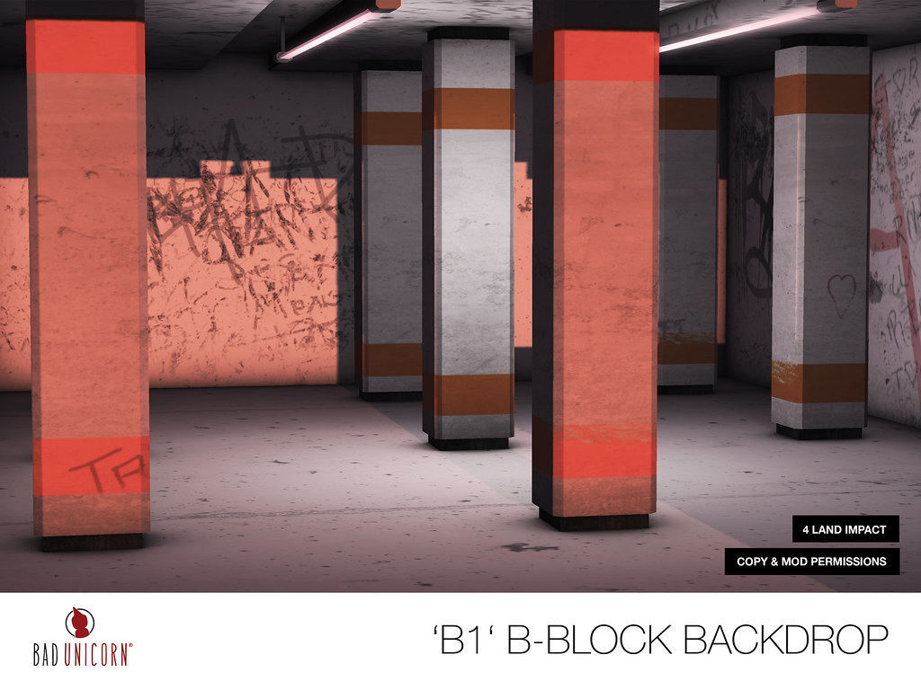 NEW B-Block Backdrops @ TMD - SecondLifeHub.com