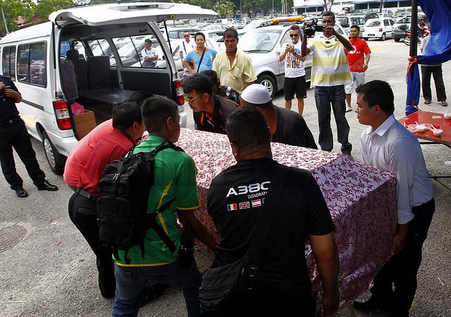 JAIPP Raid Chinese Funeral