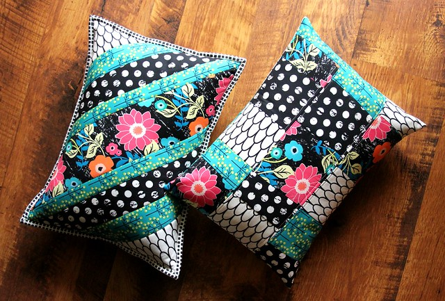 A Pair of Jungle Ave Pillows