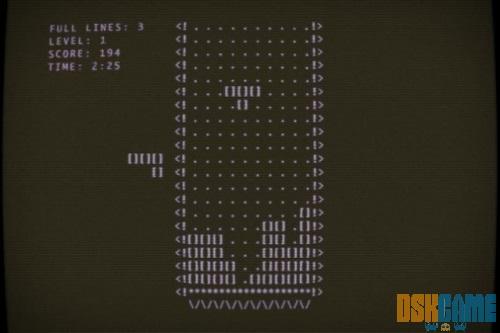 Historia del tetris, primer Tetris