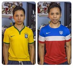 football player(0.0), sports uniform(1.0), clothing(1.0), sleeve(1.0), outerwear(1.0), jersey(1.0), sportswear(1.0), t-shirt(1.0),