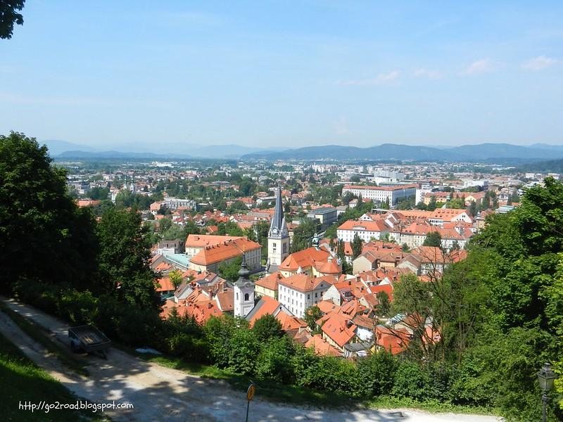 Панорама Любляны