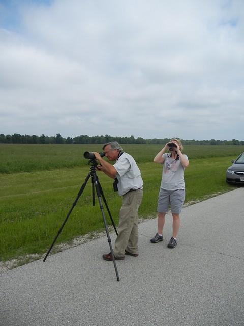 Door County birders birding