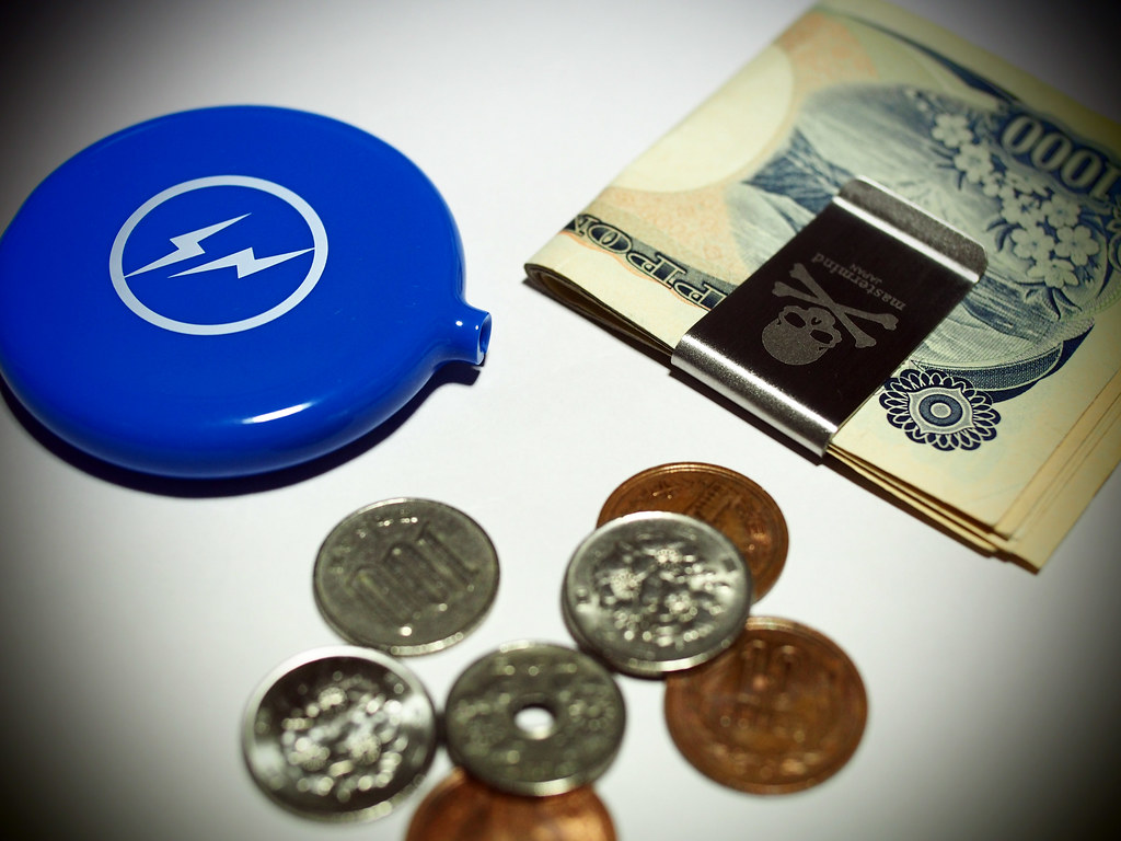 fragment design Coin Case , mastermind JAPAN Money Clip