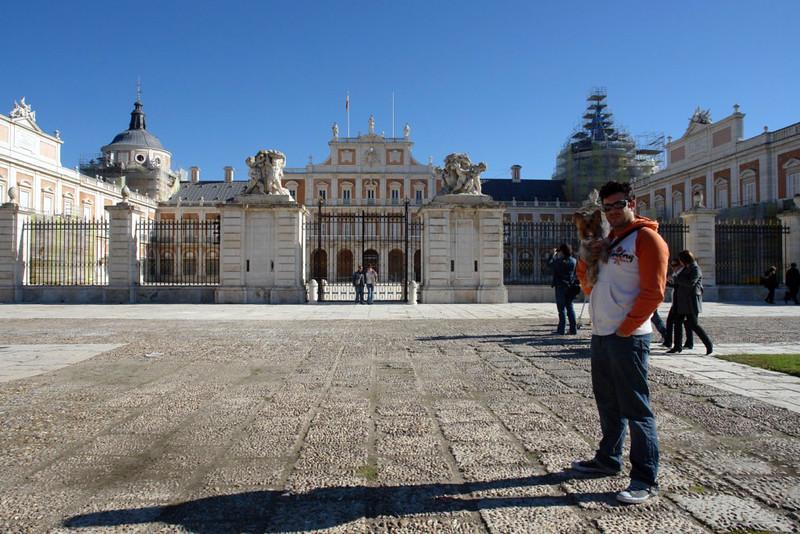 Entrada principal Palacio Real de Aranjuez