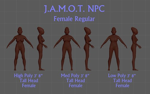 J.A.M.O.T. NPC Female Regular