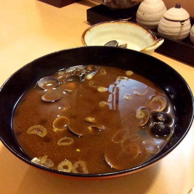 Shijimi soup at Ginzo, Hamamatsucho