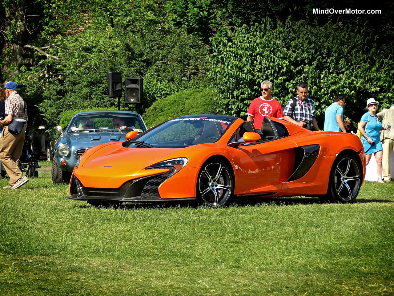 McLaren 650S at the Greenwich Concours
