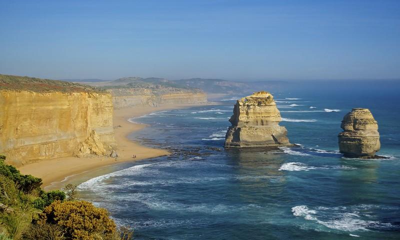Les 12 apôtres tronent fièrement le long de la Great Ocean Road