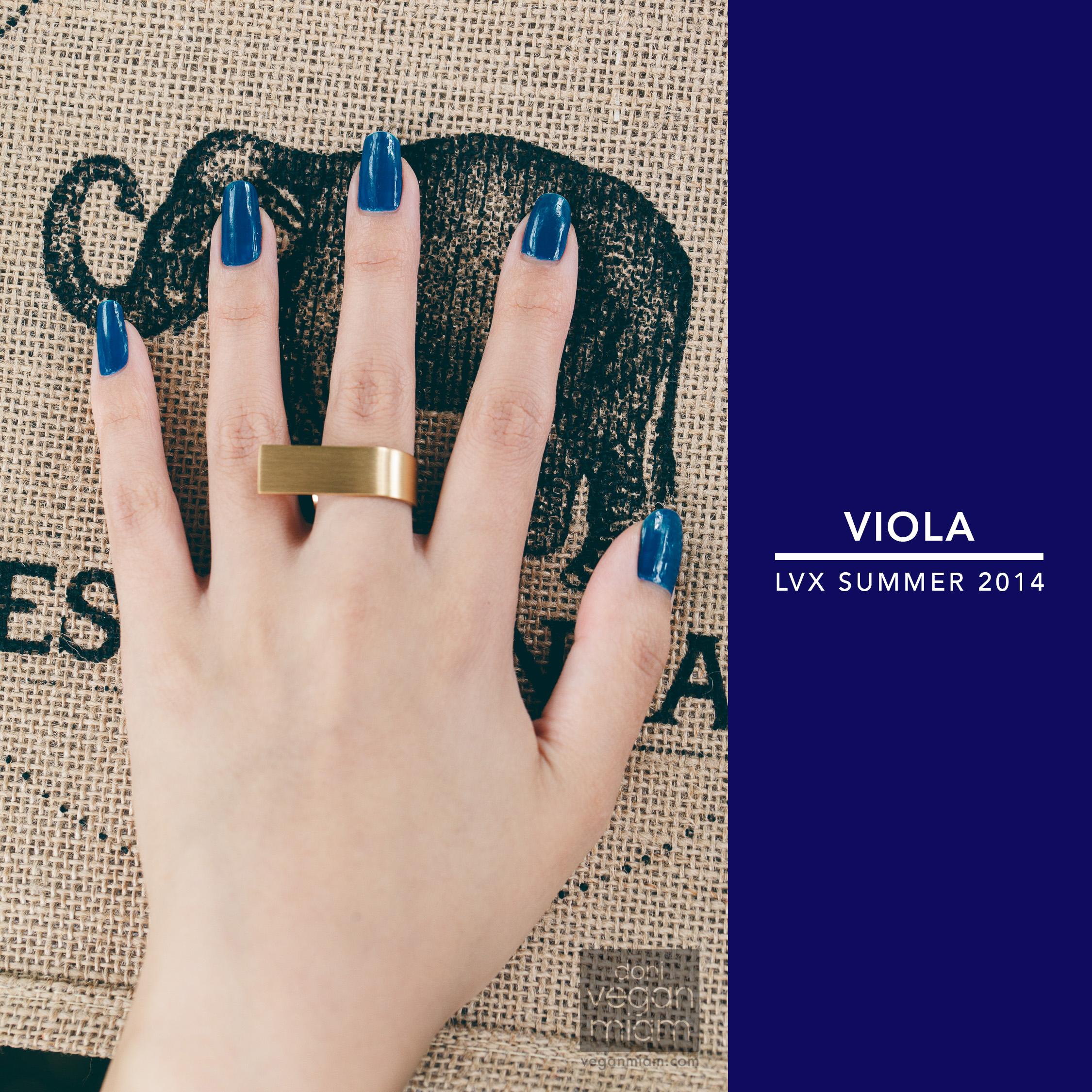Vegan LVX Nail Lacquer