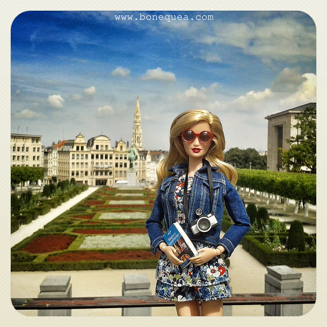 Bruselas, Le jardin du Mont des Arts