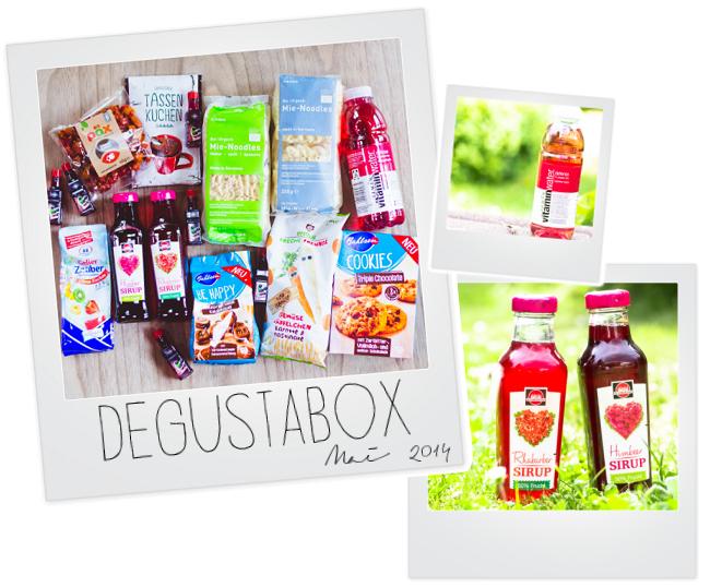Review Degustabox, Produktneueinführungen