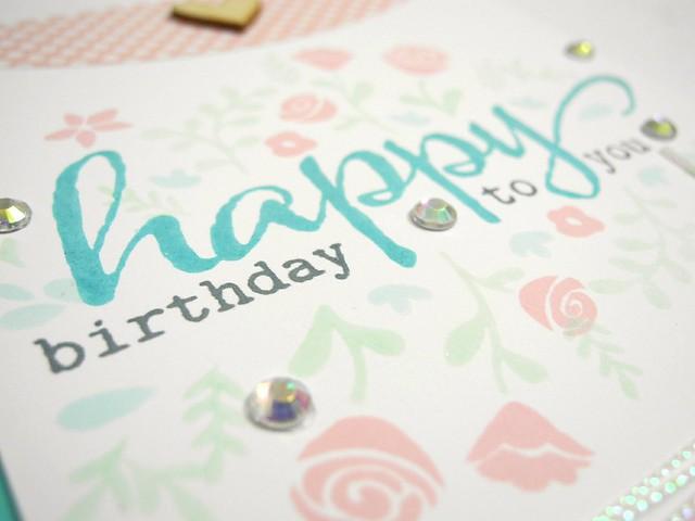 Floral Birthday (detail)