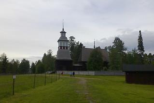 Kuva Petäjäveden vanha kirkko lähellä Petäjävesi. church suomi finland lutheran petajavesi